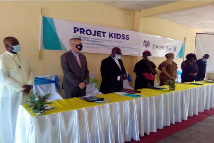 Symbolic Transfer of the Supervision of KIDSS Projects to the NECC